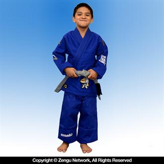 "Manto ""Select"" Blue Kids Jiu Jitsu Gi"
